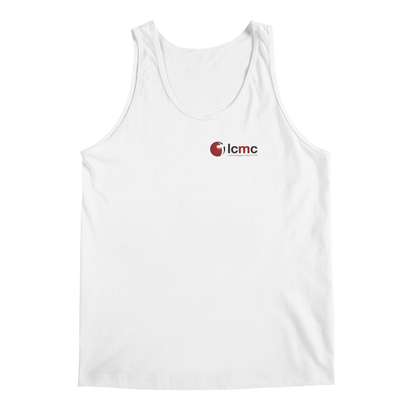 Small Logo Collection (Light Colors) Men's Regular Tank by LCMC Store