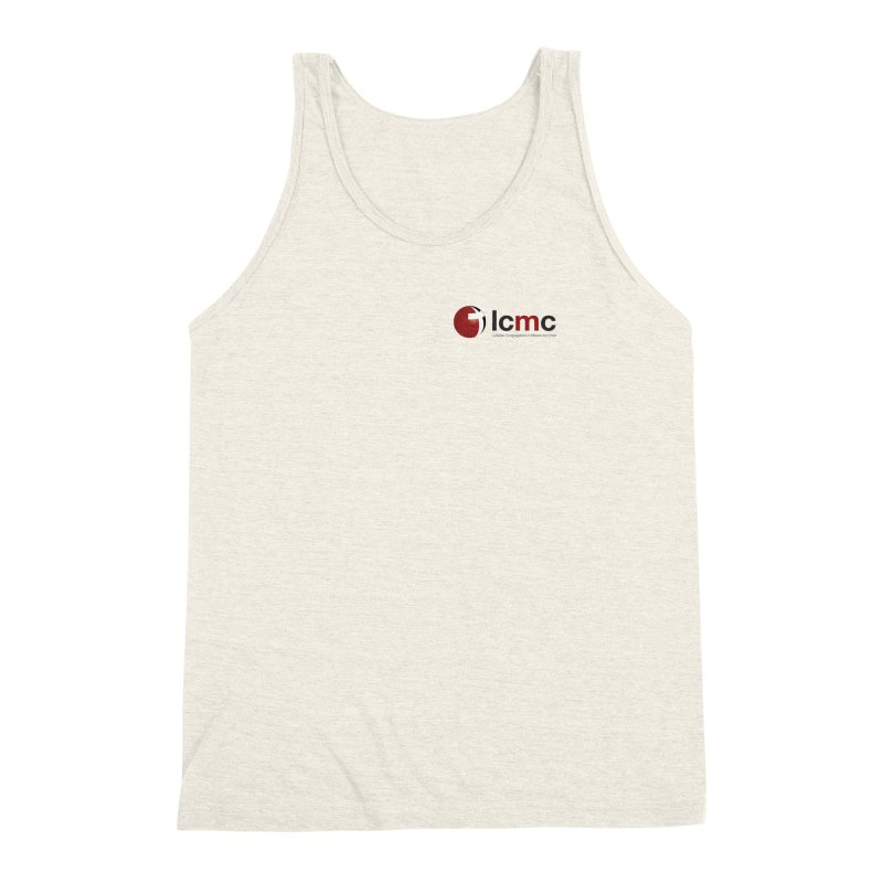 Small Logo Collection (Light Colors) Men's Triblend Tank by LCMC Store