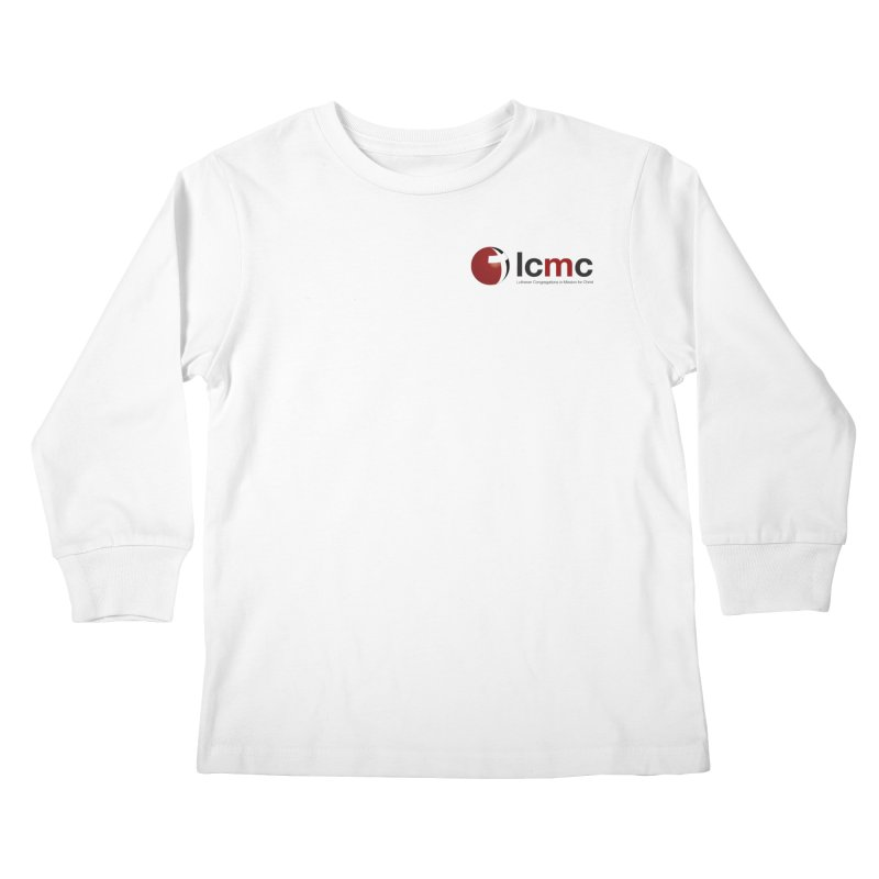 Small Logo Collection (Light Colors) Kids Longsleeve T-Shirt by LCMC Store