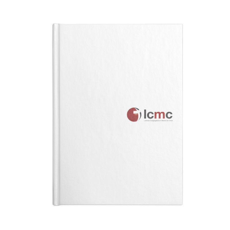 Small Logo Collection (Light Colors) Accessories Blank Journal Notebook by LCMC Store