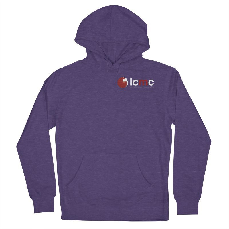 Small Logo Collection (Dark Colors) Men's French Terry Pullover Hoody by LCMC Store