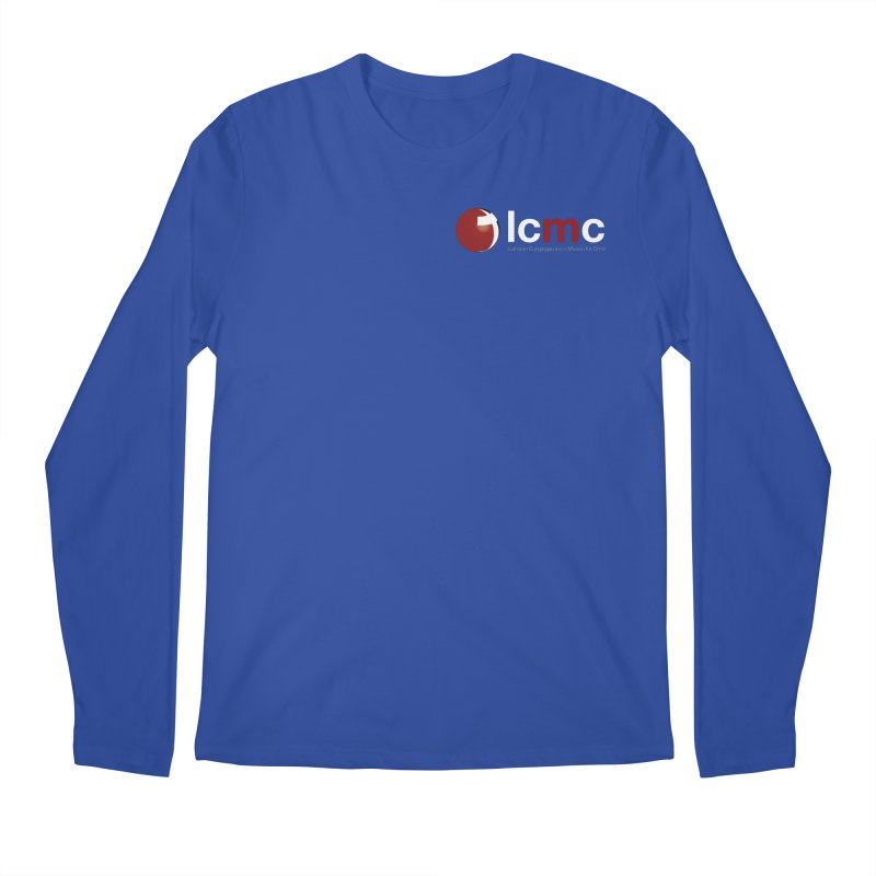 Small Logo Collection (Dark Colors) Men's Regular Longsleeve T-Shirt by LCMC Store