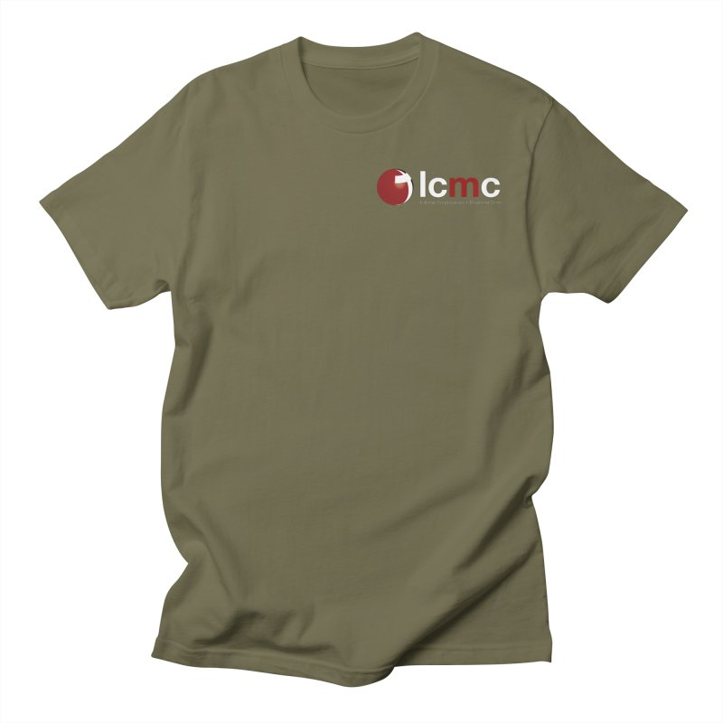 Small Logo Collection (Dark Colors) Men's Regular T-Shirt by LCMC Store