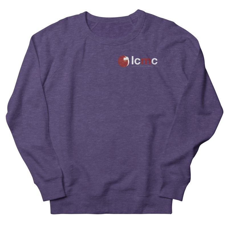 Small Logo Collection (Dark Colors) Women's French Terry Sweatshirt by LCMC Store