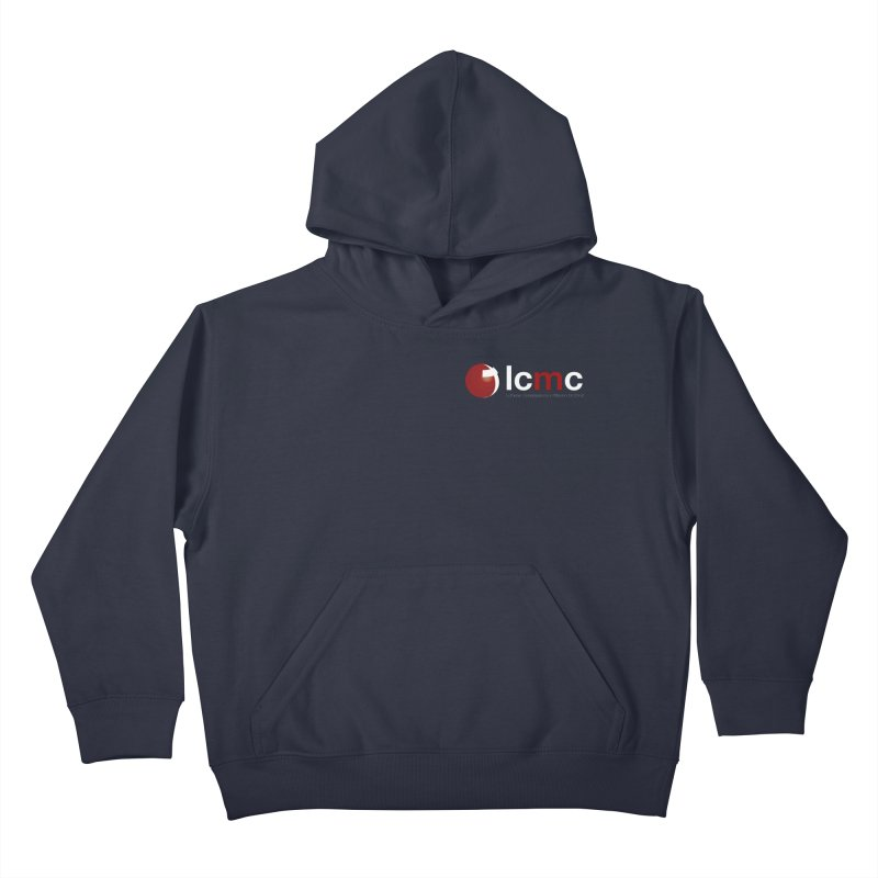 Small Logo Collection (Dark Colors) Kids Pullover Hoody by LCMC Store
