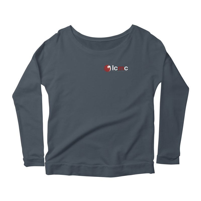 Small Logo Collection (Dark Colors) Women's Longsleeve Scoopneck  by LCMC Store