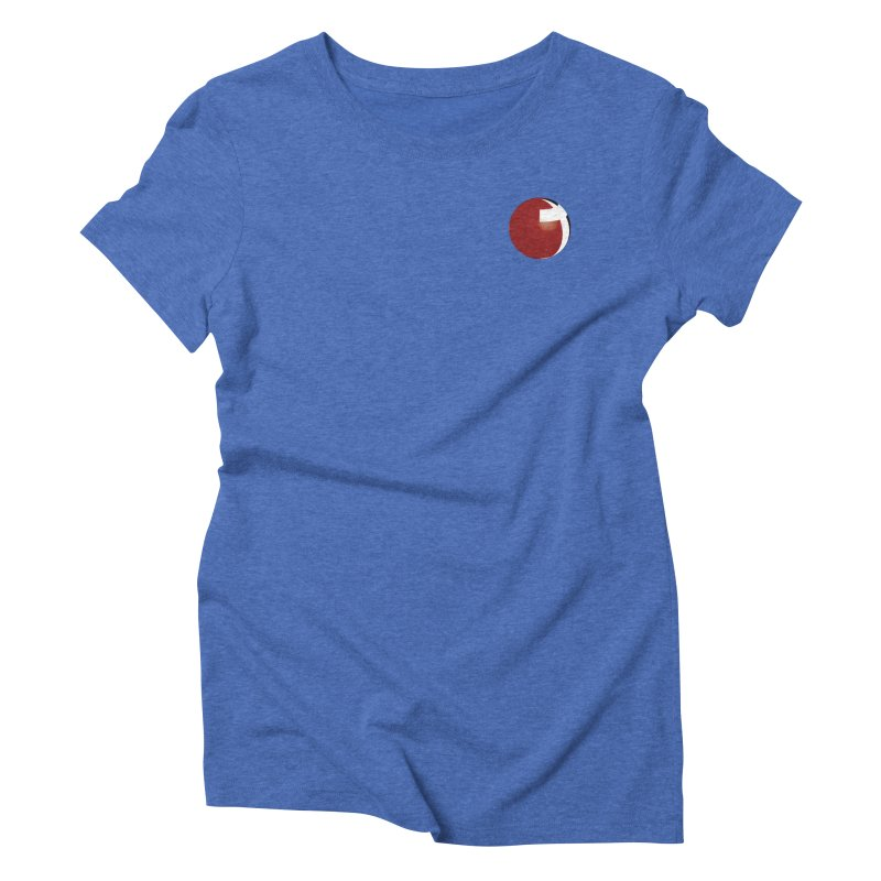 Small Graphic Collection Women's Triblend T-Shirt by LCMC Store