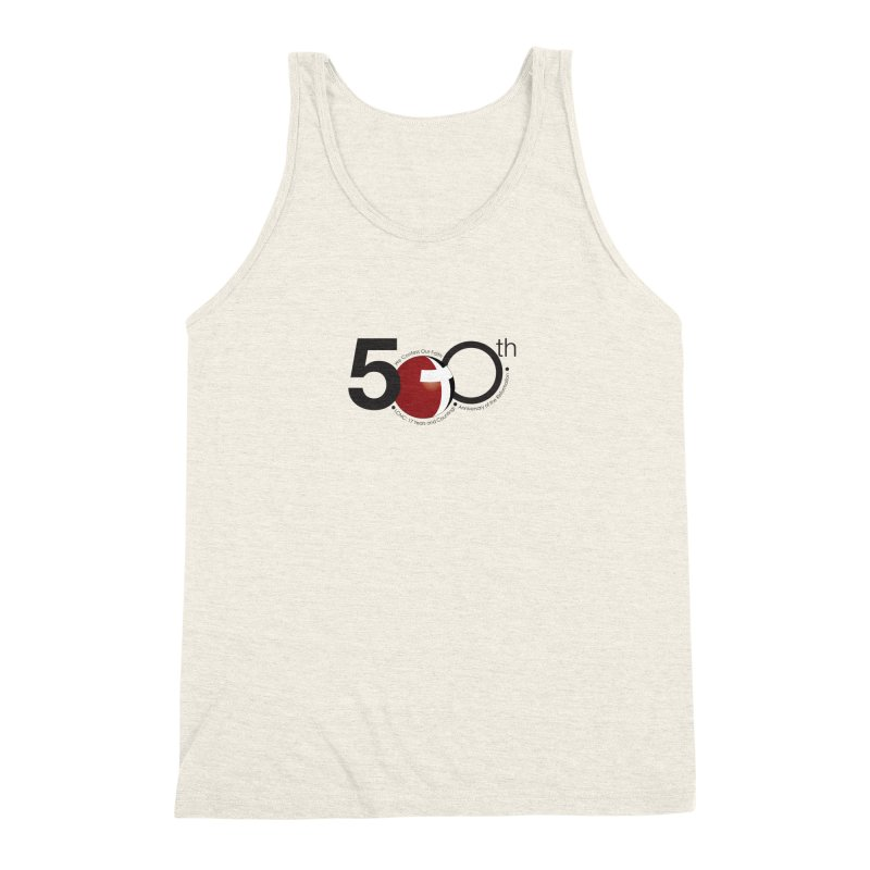 17th Annual Gathering Collection - Limited Time! Men's Triblend Tank by LCMC Store