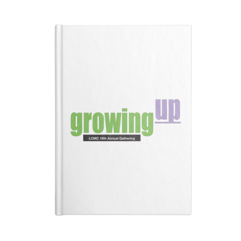 18th Annual Gathering - Limited Time! Accessories Notebook by LCMC Store