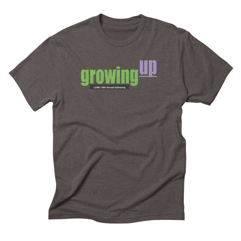 18th Annual Gathering - Limited Time! in Men's Triblend T-Shirt Tri-Coffee by LCMC Store
