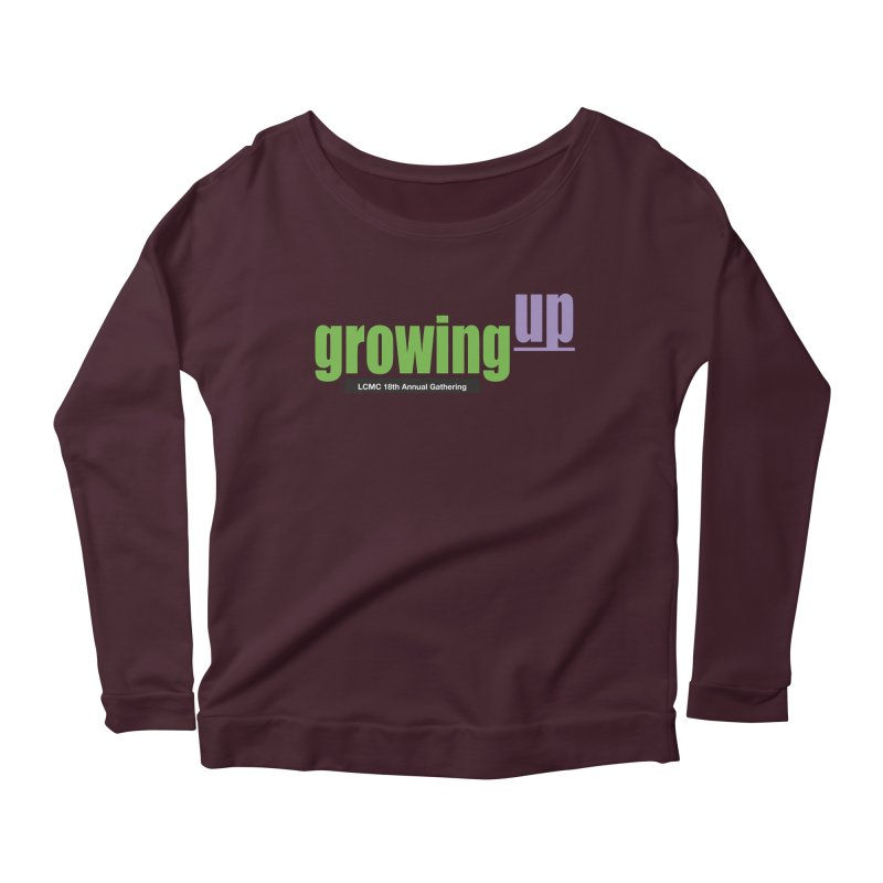 18th Annual Gathering - Limited Time! Women's Longsleeve Scoopneck  by LCMC Store