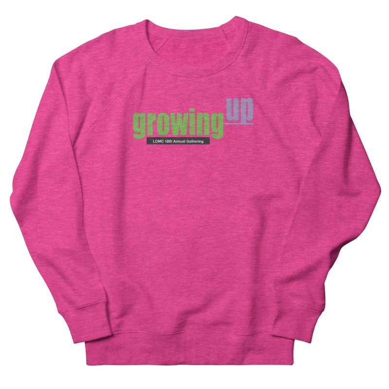 18th Annual Gathering - Limited Time! Women's French Terry Sweatshirt by LCMC Store