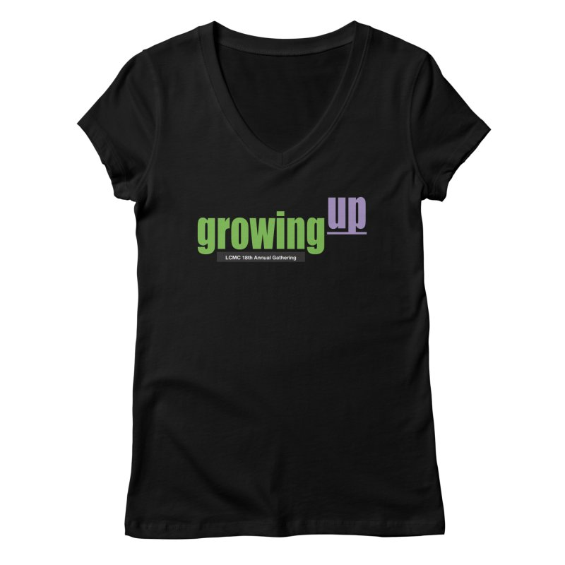 18th Annual Gathering - Limited Time! Women's V-Neck by LCMC Store