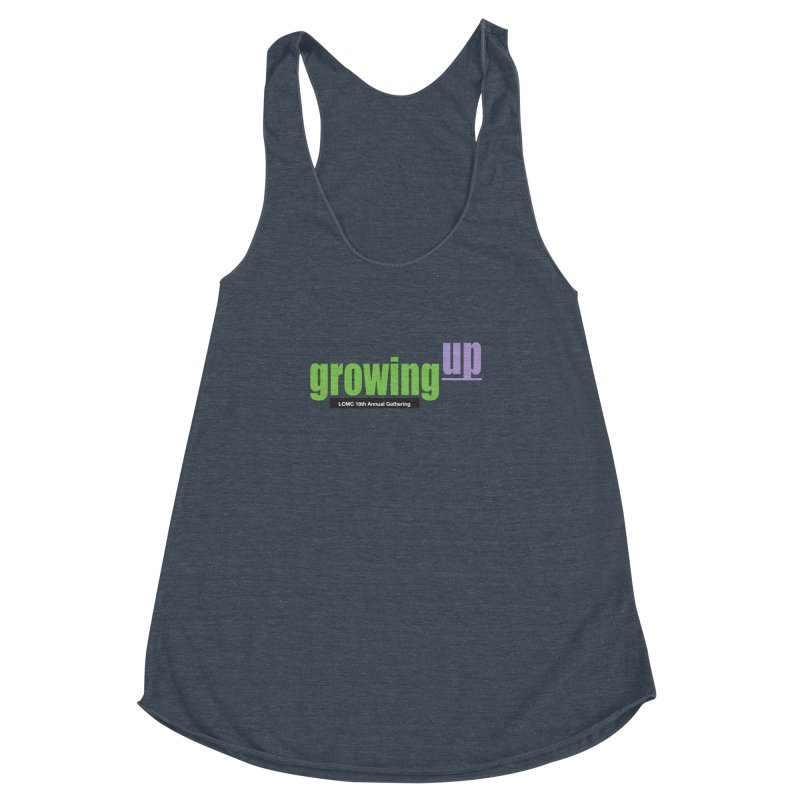 18th Annual Gathering - Limited Time! Women's Racerback Triblend Tank by LCMC Store
