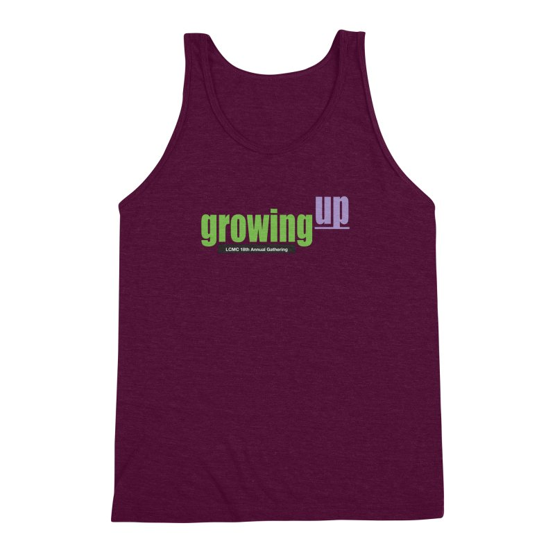 18th Annual Gathering - Limited Time! Men's Triblend Tank by LCMC Store