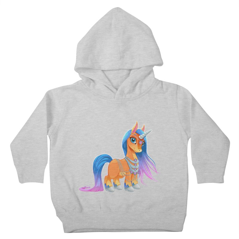 unicorn rainbow fantasy Kids Toddler Pullover Hoody by ldmaestro's Artist Shop