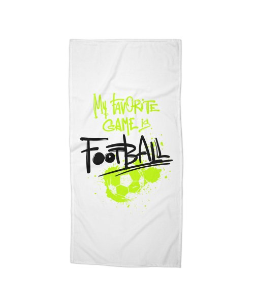 My favorite game is football