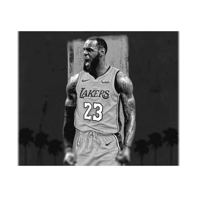 Lebron Lakers Black White Men S T Shirt Regular Ldog S Artist Shop