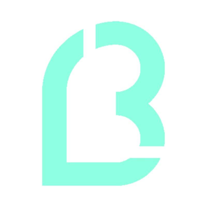 Lea B. Logo 5 Men's T-Shirt by Lea B.'s  Boutique