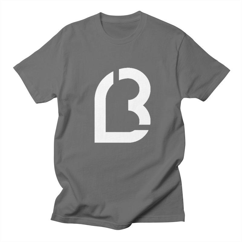 Lea B. Logo 6 Men's T-Shirt by Lea B.'s  Boutique