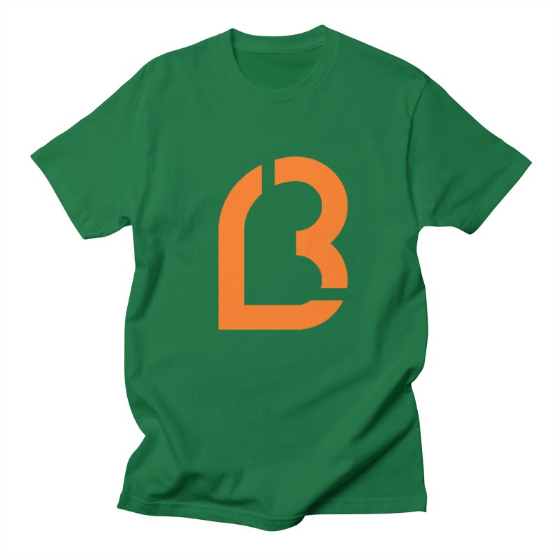 Lea B. Logo 10 Men's T-Shirt by Lea B.'s  Boutique