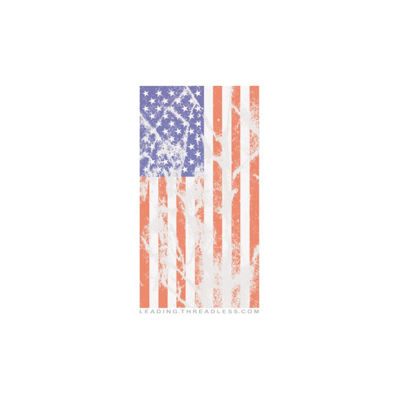 US Flag Shirt by Leading Artist Shop
