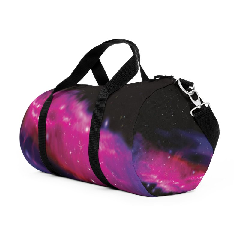 Outerspace DuffleBag Accessories Duffel Bag Bag by Leading Artist Shop