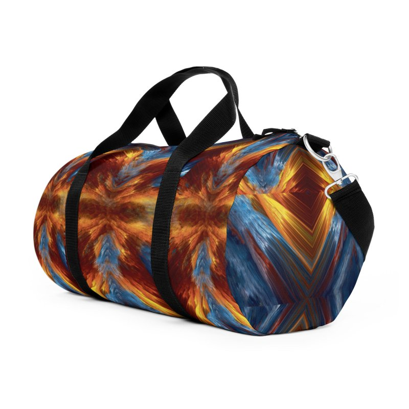 Duffel Bag n Backpack Abstract Art Accessories Duffel Bag Bag by Leading Artist Shop