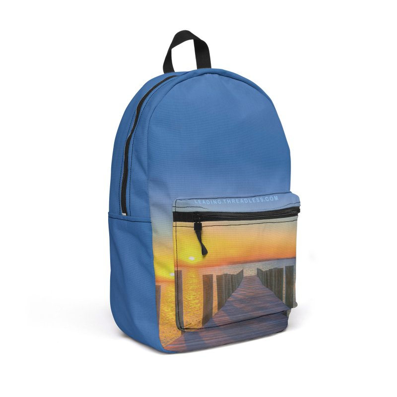 Sunset On the Mississippi Accessories Backpack Bag by Leading Artist Shop
