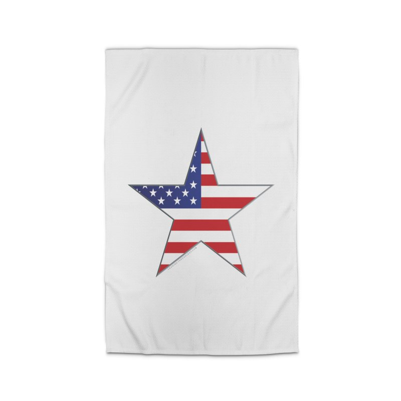 Flag Star Shirts n More Home Rug by Leading Artist Shop