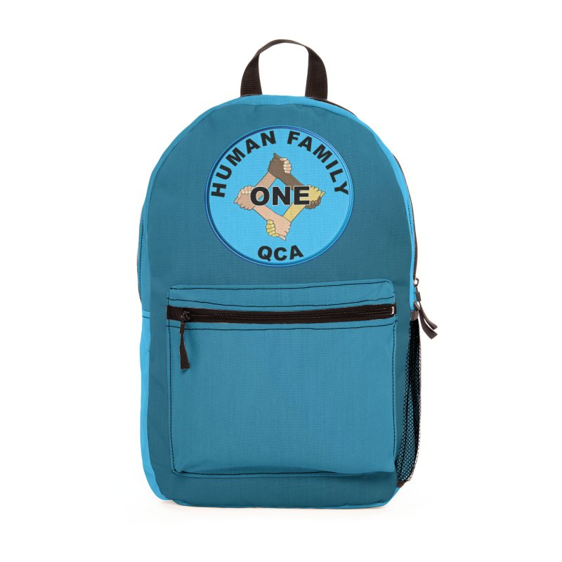 One Human Family QCA Phone Cases, Tote Bags, Stickers, & More Bag by Leading Online Shopping