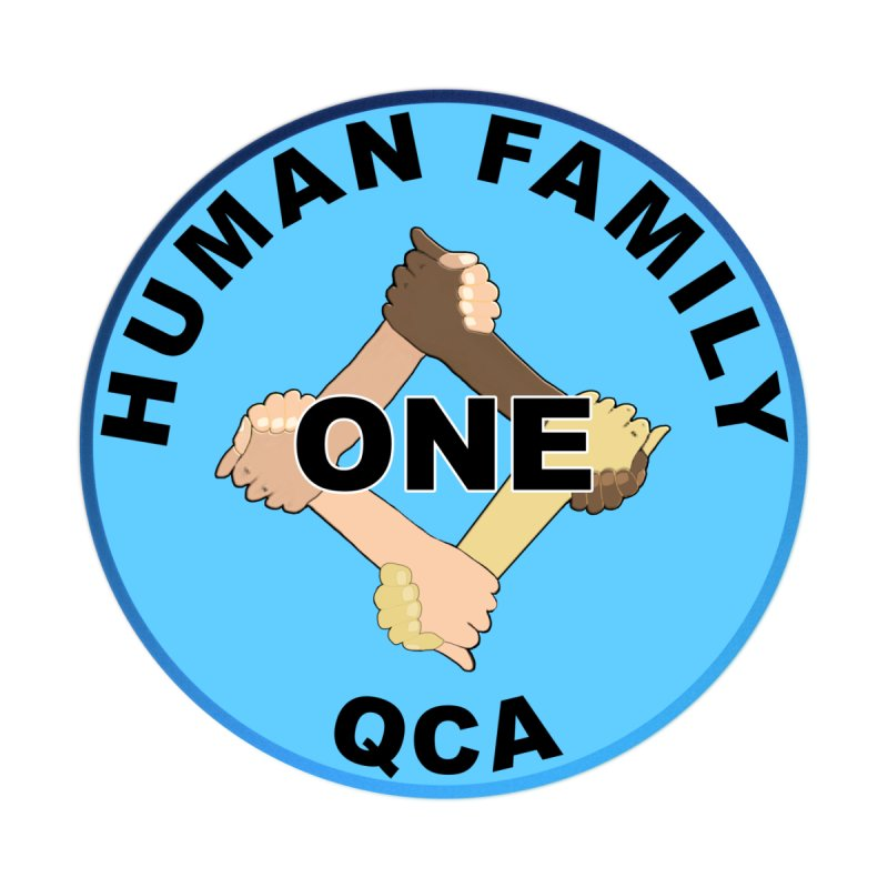 One Human Family QCA Men's T-Shirt by Leading Artist Shop
