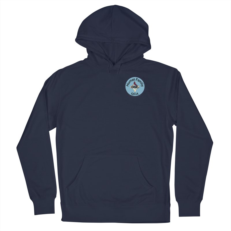 One Human Family QCA Men's Pullover Hoody by Leading Artist Shop