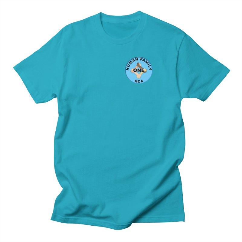 One Human Family QCA Men's T-Shirt by Leading Artist Shop