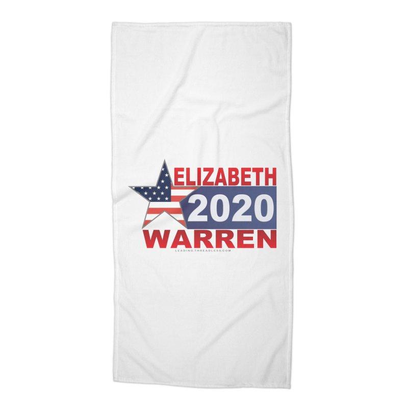 Vote Elizabeth Warren Accessories Beach Towel by Leading Artist Shop