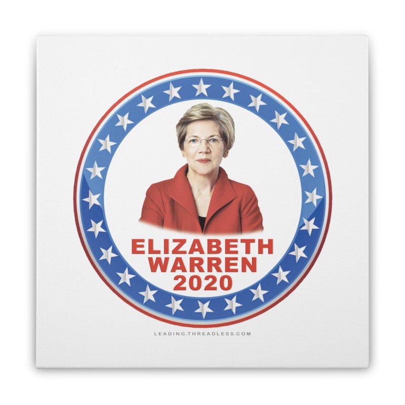 Elizabeth Warren 2020 Shirts n More Home Stretched Canvas by Leading Artist Shop