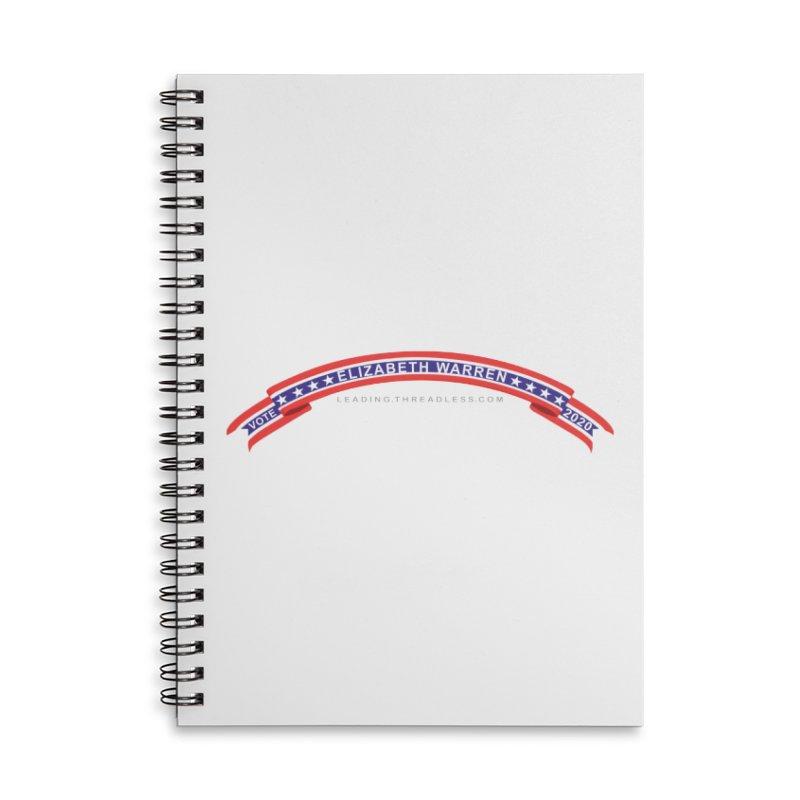 Vote Elizabeth Warren 2020 Shirts Accessories Lined Spiral Notebook by Leading Artist Shop