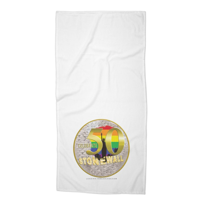Stonewall 1969 Accessories Beach Towel by Leading Artist Shop
