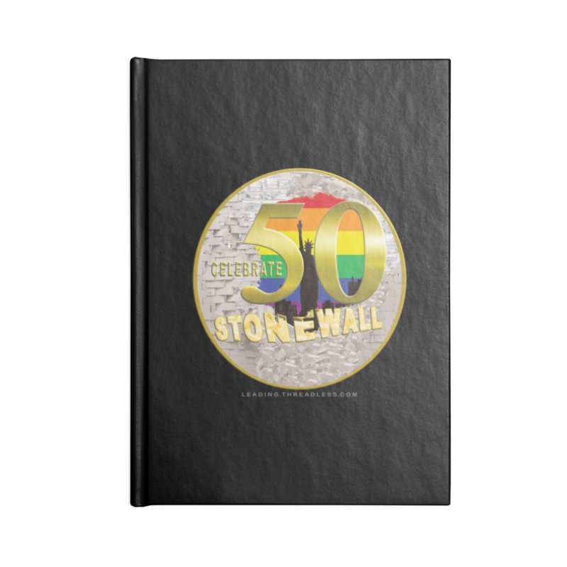 Stonewall 1969 Accessories Blank Journal Notebook by Leading Artist Shop
