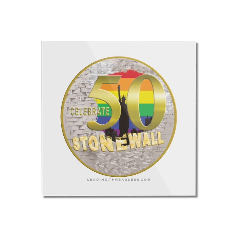 Stonewall 1969 Home Mounted Acrylic Print by Leading Artist Shop