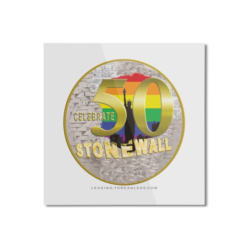Stonewall 1969 Home Mounted Aluminum Print by Leading Artist Shop