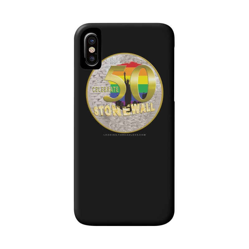 Stonewall 1969 Accessories Phone Case by Leading Artist Shop
