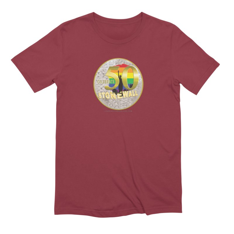 Stonewall 1969 Men's Extra Soft T-Shirt by Leading Artist Shop
