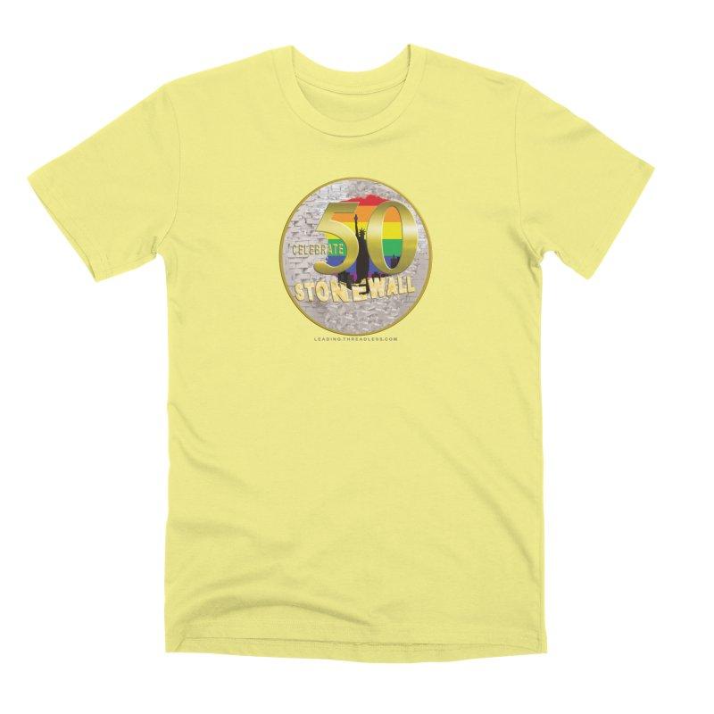 Stonewall 1969 Men's Premium T-Shirt by Leading Artist Shop