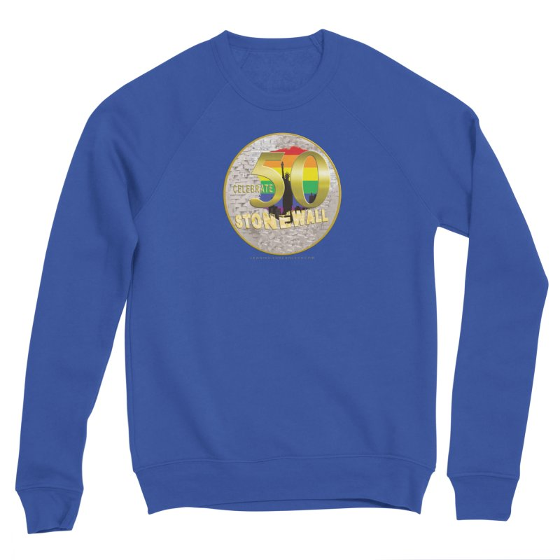 Stonewall 1969 Men's Sponge Fleece Sweatshirt by Leading Artist Shop