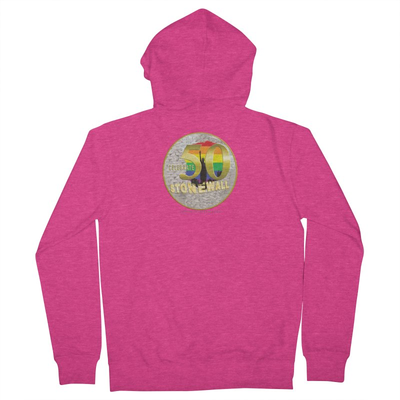 Stonewall 1969 Women's French Terry Zip-Up Hoody by Leading Artist Shop