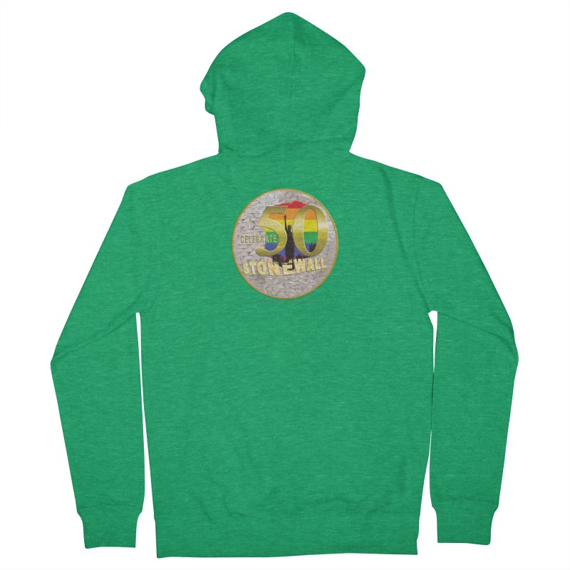 Stonewall 1969 Men's French Terry Zip-Up Hoody by Leading Artist Shop
