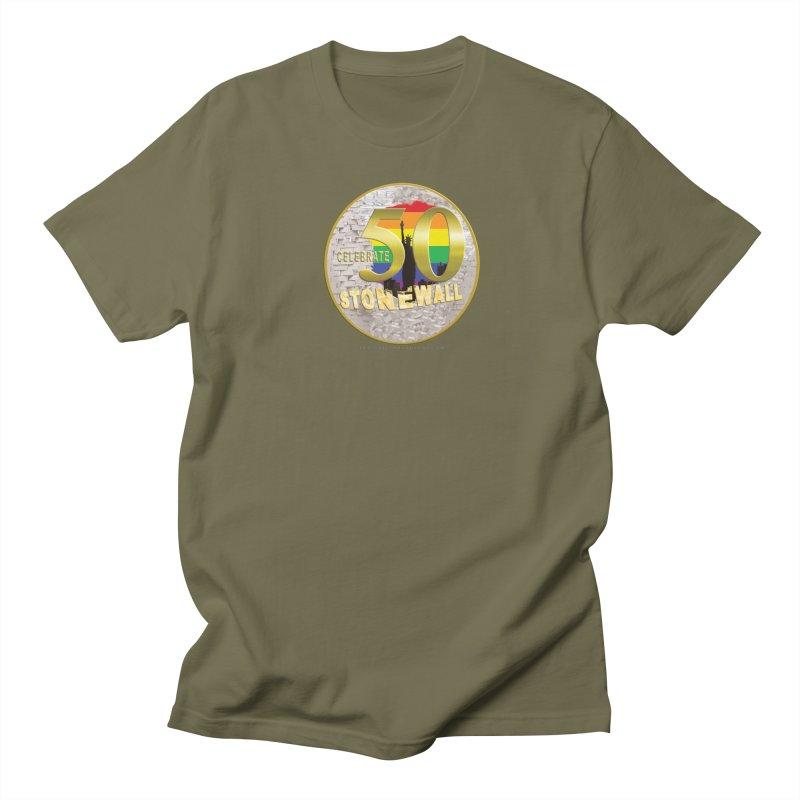 Stonewall 1969 Men's Regular T-Shirt by Leading Artist Shop
