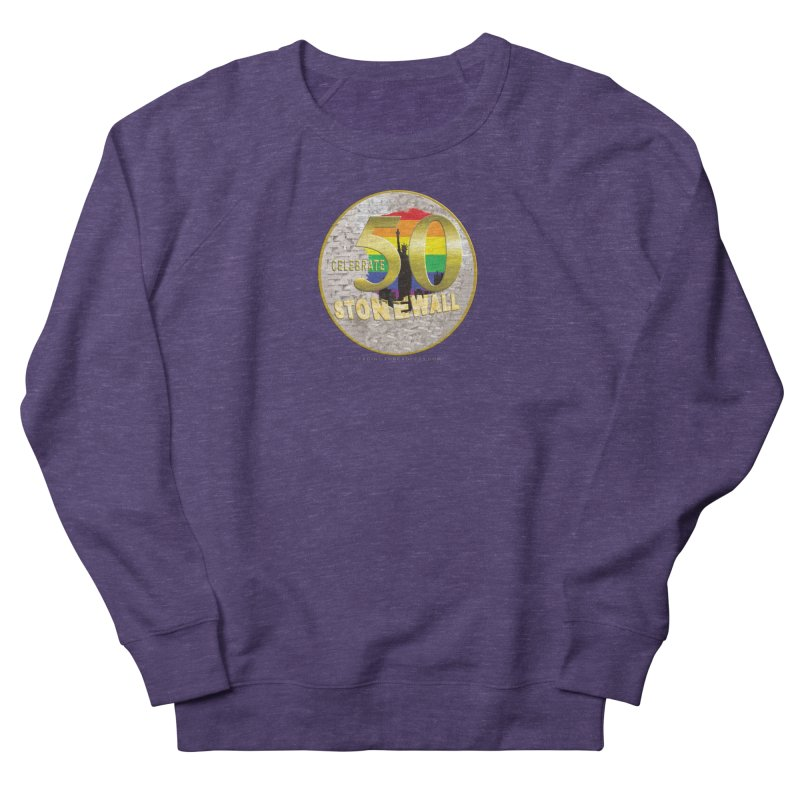 Stonewall 1969 Women's French Terry Sweatshirt by Leading Artist Shop