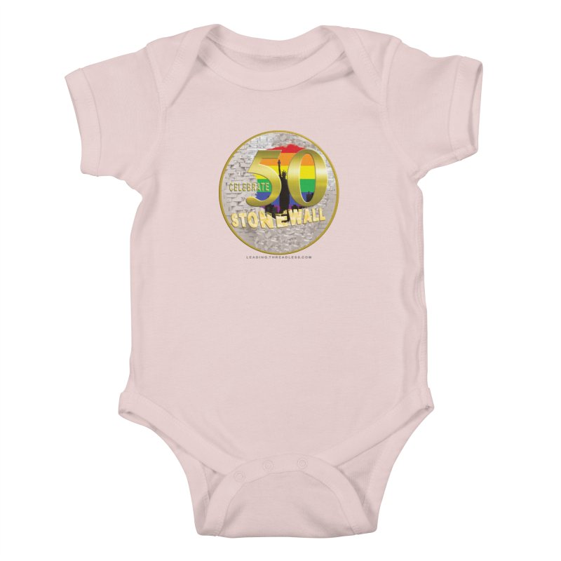 Stonewall 1969 Kids Baby Bodysuit by Leading Artist Shop